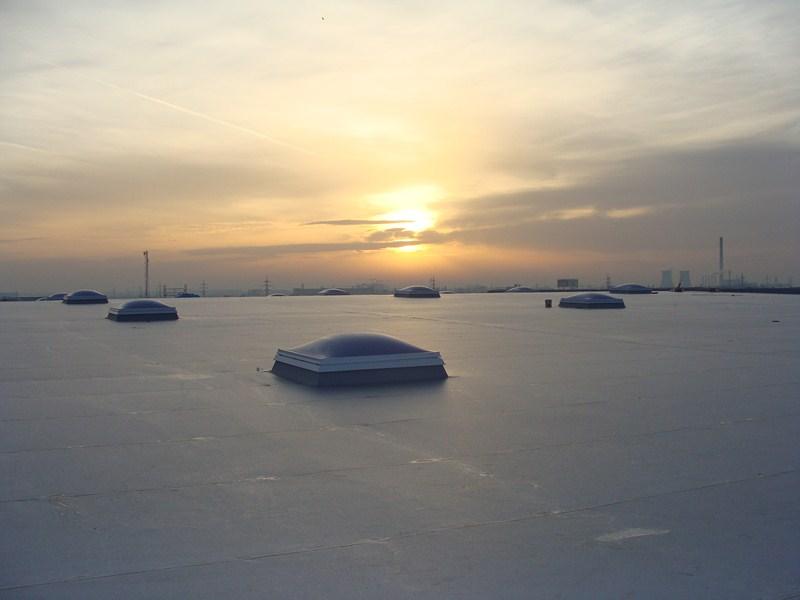 montaj acoperis hala